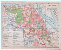 Map of Hanoi Vietnam